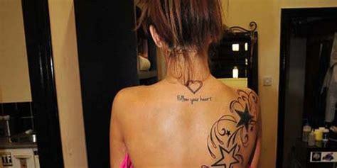 Tato Di Punggung Belakang | foto tato baru di punggung belakang natasha giggs 6