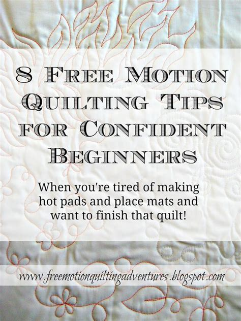 machine quilting tutorial for beginners 8 free motion quilting tips for confident beginners amy s