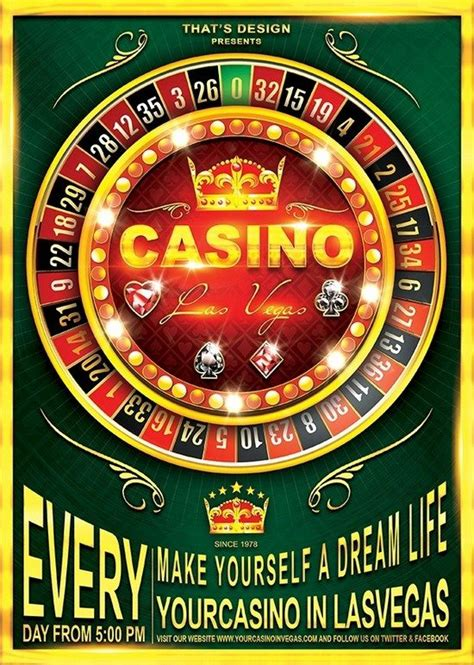 20 beautiful casino flyer templates web resources free