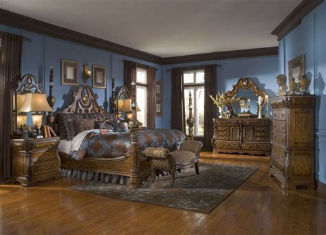michael amini the sovereign soft mink traditional bedroom