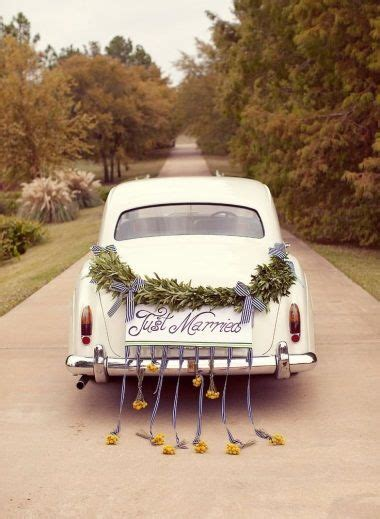 25  best ideas about Just married car on Pinterest   Just
