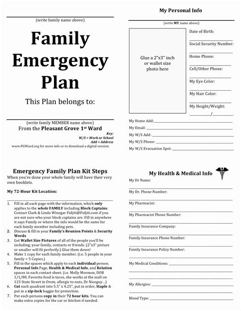 home emergency evacuation plan home design