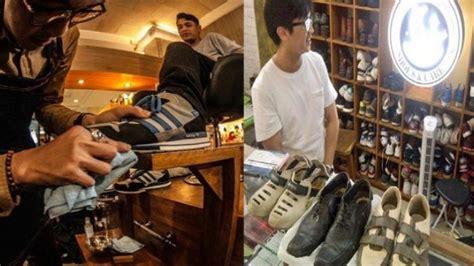 kenalkan pemuda tukang cuci sepatu  pekerjaan