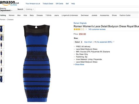 color of the dress people are leaving hilarious reviews of the colour changing dress on amazon business insider