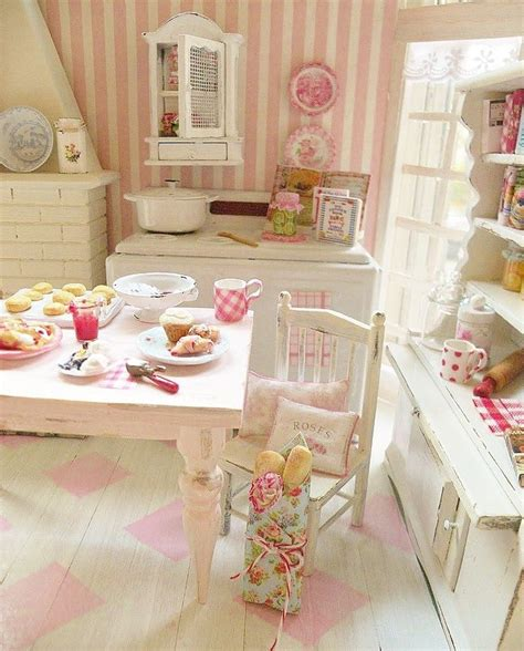 17 best images about shabby chic dollhouse miniatures on