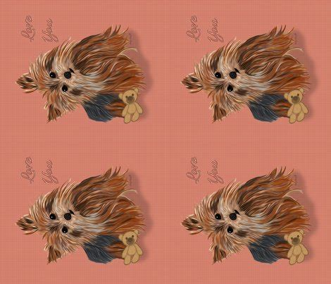 yorkie quilt yorkie quilt pillow has matching gingham fabric fabric sherry spoonflower