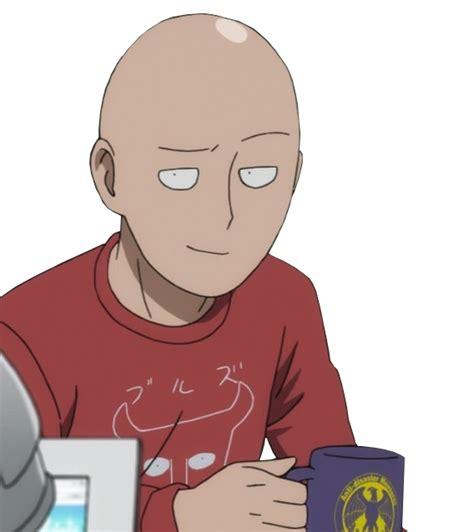 smug saitama smug anime face   meme
