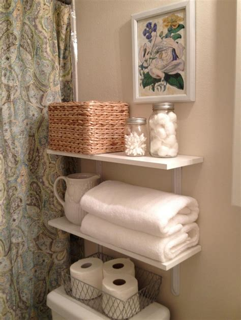Wicker Bathroom Shelves Wicker Shelves Bathroom Wall