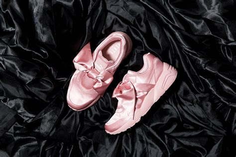Bow Fenty Rihana rihanna s fenty bow shoe and slider pause