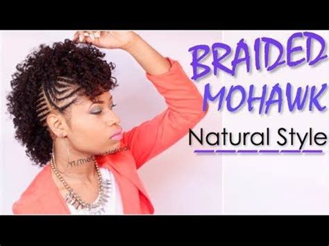 embrace braids mohok 1000 ideas about natural hair mohawk on pinterest flat