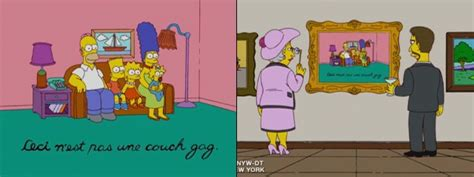 the simpsons best couch gags this is not a couch gag couch gag simpsons wiki fandom