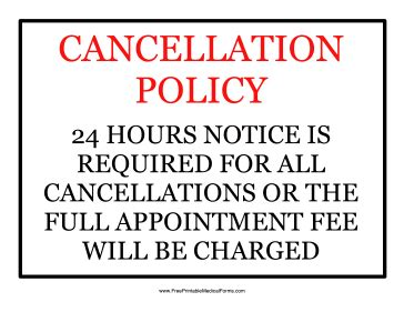 rooms to go cancellation policy printable cancellation policy