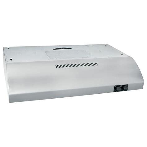 ge under cabinet range hood ge 30 in under the cabinet range hood in stainless steel