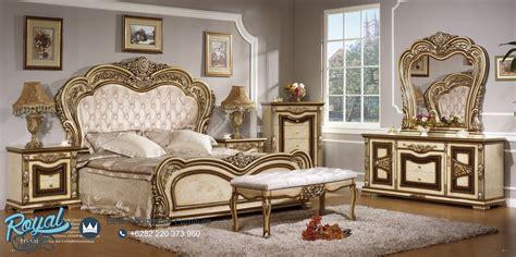 Set Tempat Tidur Ukir Luxury Kamar Tidur Dipan Lemari Meja Rias Nakas set tempat tidur mewah model ukir klasik eropa terbaru royal furniture indonesia
