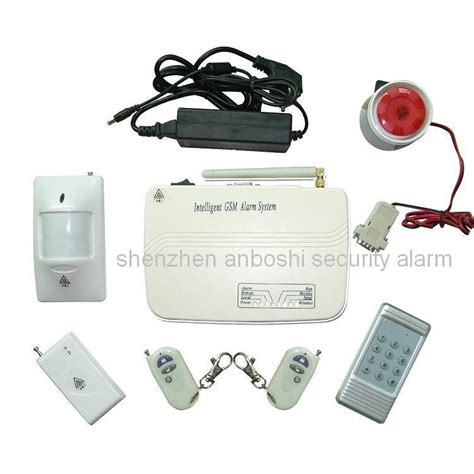 china home security intelligent gsm burglar alarm systems