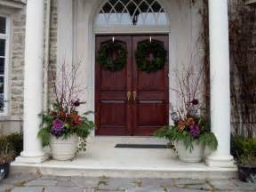 Entrance Decor Ideas Door Windows Wooden Front Entrance Design Front