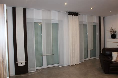vorhã nge schiebegardinen design vorh 228 nge modern wohnzimmer inspirierende bilder