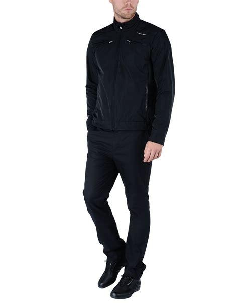 jacket design black porsche design jacket in black for men lyst