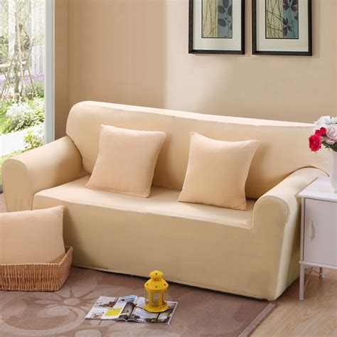 fabric cover for leather sofa universal sofa set beige bag all inclusive sofa cover