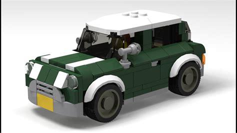 custom lego mini cooper how to custom lego mini cooper speed chions style
