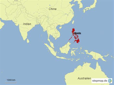 wo liegen die philippinen philippinen ausschnitt weltkarte marinah95 landkarte
