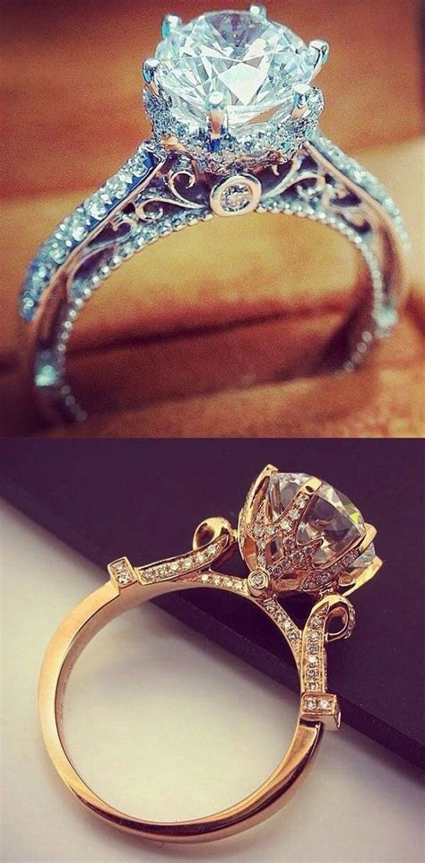9 Beautiful Wedding Bands by 25 Best Ideas About Pearl Engagement Rings On