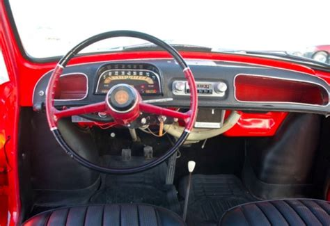 renault dauphine interior rarely restored 1962 renault dauphine deluxe bring a