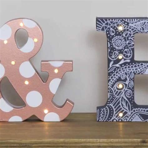 light up letters diy diy light up letters