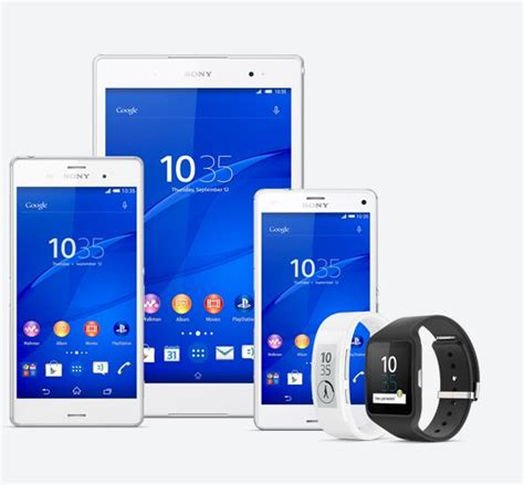 Hp Sony Xperia Z3 Series sony unveils new z3 series xperia smartphones tablet smart wearables at ifa 2014