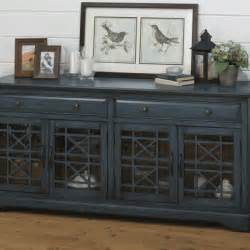 Overstock Com Desks Craftsman Antique Blue 60in Tv Stand Lexington