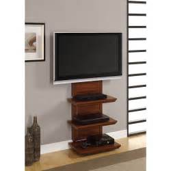 wall mounted tv stands altramount tv stand for tvs up to 60 quot cherry walmart
