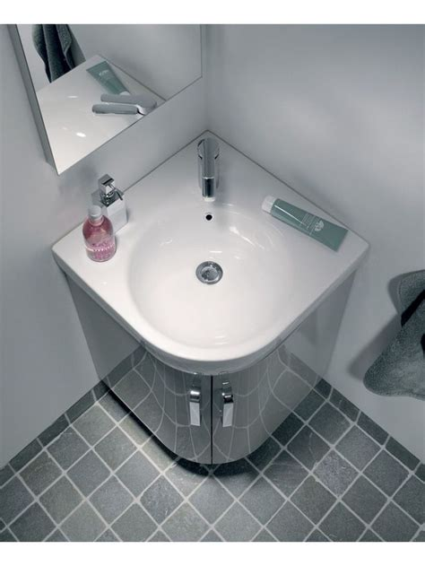 corner bathroom sink ideas 45 corner bathroom sink vanity units mode curvaceous slate compact corner vanity unit and