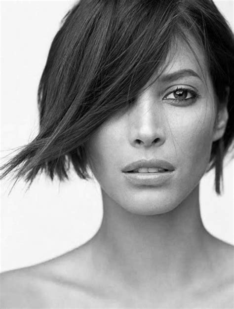 short hairstyle pics noncelebrity stunning asymmetrical bob hairstyles for long and oval