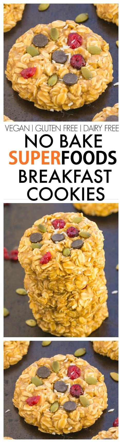 Detox Vegan Breakfast by Healthy No Bake Superfoods Detox Breakfast Cookies