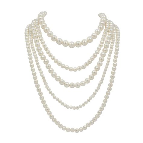 Pearl Layered Necklace pearl layered necklace jewelry pearls