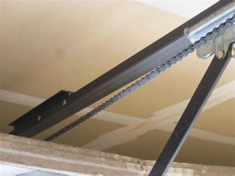Fixing Garage Door Opener Chain Ppi Blog Garage Door Chain Track