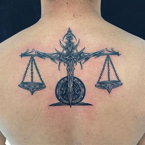 30 extraordinary libra tattoo designs amp meaning