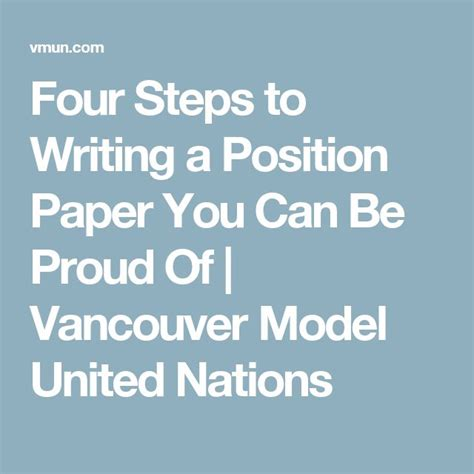 how do you write a position paper 25 best ideas about united nations on human