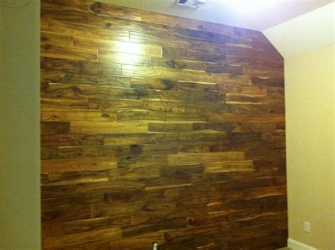 wood flooring as accent wall in nursery baby pinterest