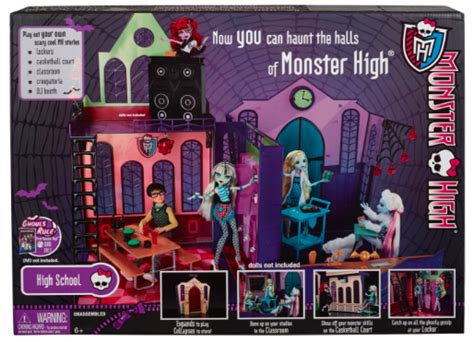 monster high school house monster high high school doll house only 34 99 at kmart originally 84 99