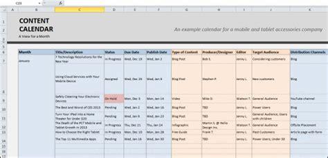 editorial calendar template excel editorial calendar ad publishing
