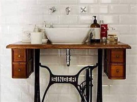 idee fai da te bagno arredo bagno vintage donna moderna