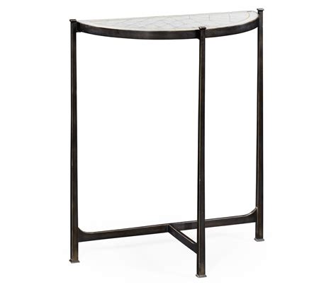 small glass console table small glass console table black swanky interiors