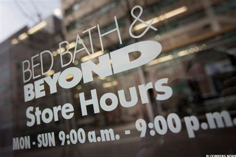 bed bath and beyond hours nyc bed bath beyond profits fall thestreet