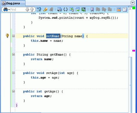 getter setter java definition oracle jdeveloper 11g release 2 tutorials getting