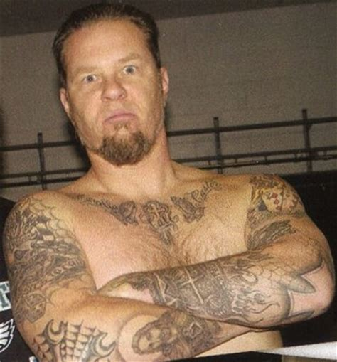 tattoo neck james hetfield what do you think about his tattoos poll results james