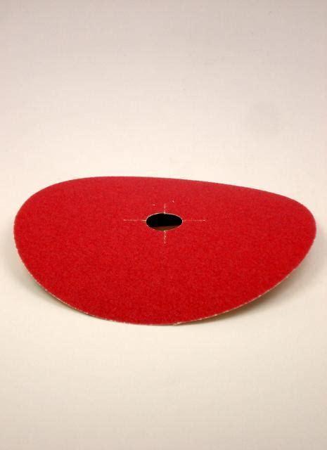 Norton Abrasives 80 Grit Red Heat Bolt On Edger Discs 7