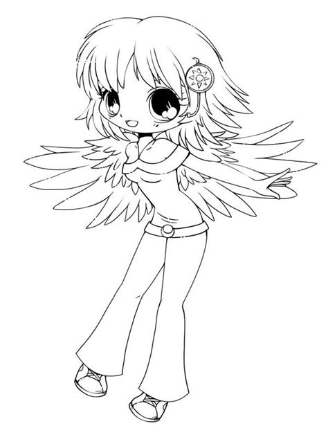 chibi coloring pages chibi coloring pages to and print for free
