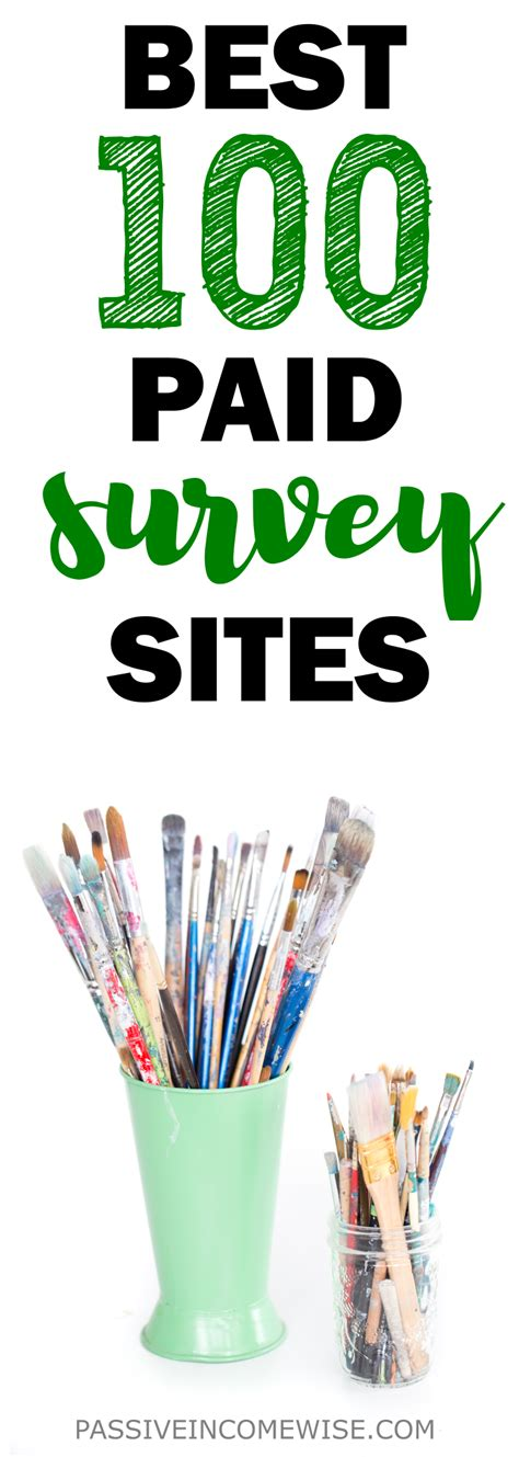 Best Surveys To Make Money - 100 free online survey sites to make money passive income wise