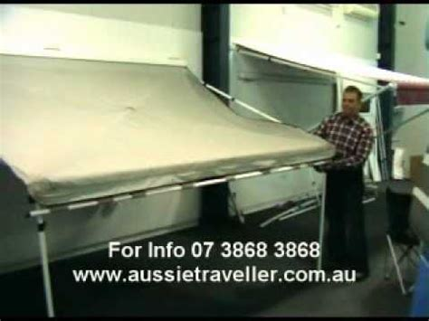 coolabah awning aussie traveller coolabah awning youtube